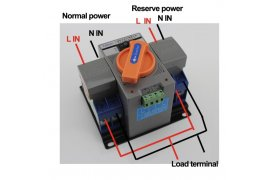 Automatic Transfer Switch - Myanmar Online Shopping