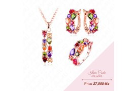 Brilliant Jewellery Set - Myanmar Online Shopping