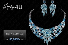Jewellery Set 4 Pretty Ladies - Myanmar Online Shopping