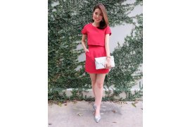 Formal Base Tone Set (Red) - Myanmar Online Shopping