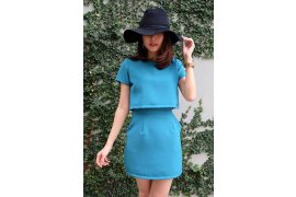 Formal Base Tone Set (Light Blue) - Myanmar Online Shopping