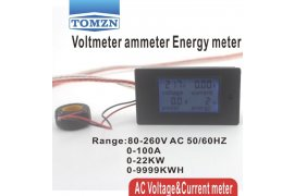 LCD 4 In 1 Energy Display Meter - Myanmar Online Shopping