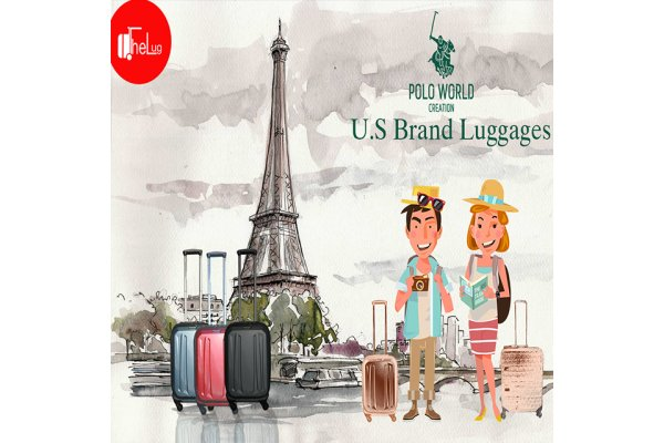U.S Brand ရဲ႕ Polo World Luggage