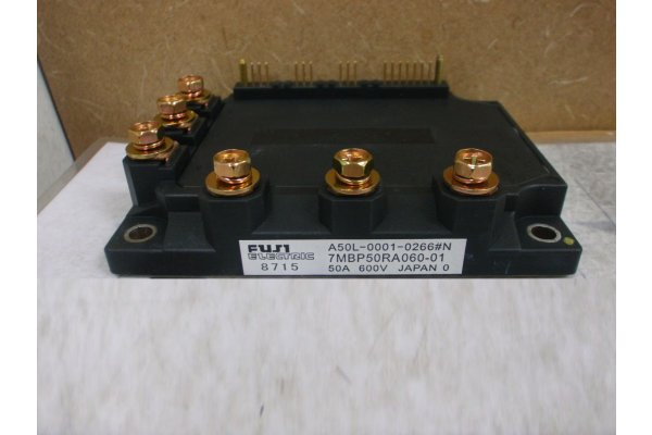 7MBP50RA060-01 FUJI ELECTRIC IGBT MODULE