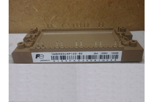 7MBR25U4P120-50 FUJI ELECTRIC POWER MODULE