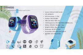 IP67 WATER PROOF GPS KID WATCH ( TOUCH SCREEN ) - Myanmar Online Shopping