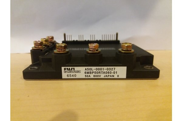 6MBP50RTA060-01 6MBP50RTA06001 FUJI ELECTRIC POWER MODULE