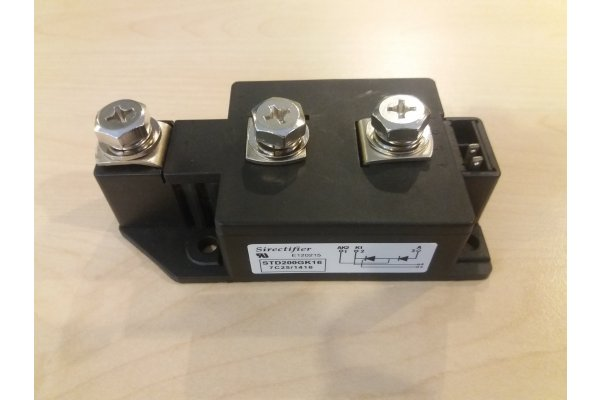 STD200GK16 SIRECTIFIER POWER MODULE
