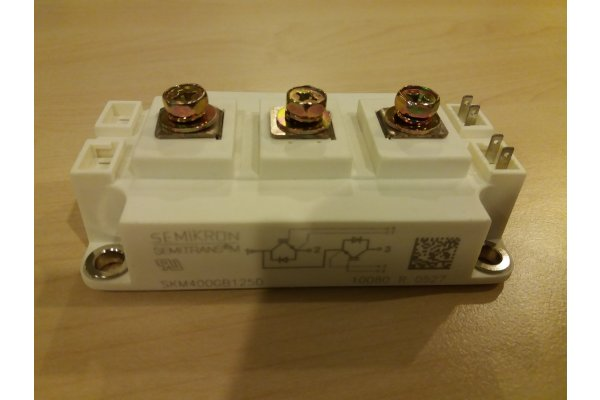SKM400GB125D SEMIKRON POWER MODULE