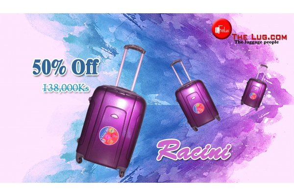 New, Racini Luggage item 3512