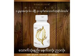 Real Elixir Multi 4 Oil 60 Capsules - Myanmar Online Shopping