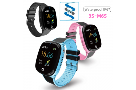 GPS KID WATCH ( 3S-M6S ) - Myanmar Online Shopping