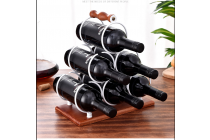 3 layers Tringle Wind Rack for 6 Bottles