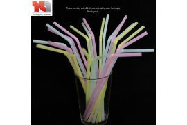 Plastic Drinking Straws - Mixed Colors, Made in Vietnam - Myanmar Online Shopping