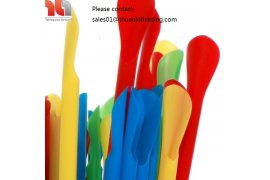 Spoon Straws - Plastic - Myanmar Online Shopping