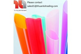 Disposable Plastic Jumbo Straws - Myanmar Online Shopping
