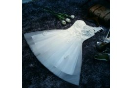 Cute Wedding Dress - Myanmar Online Shopping